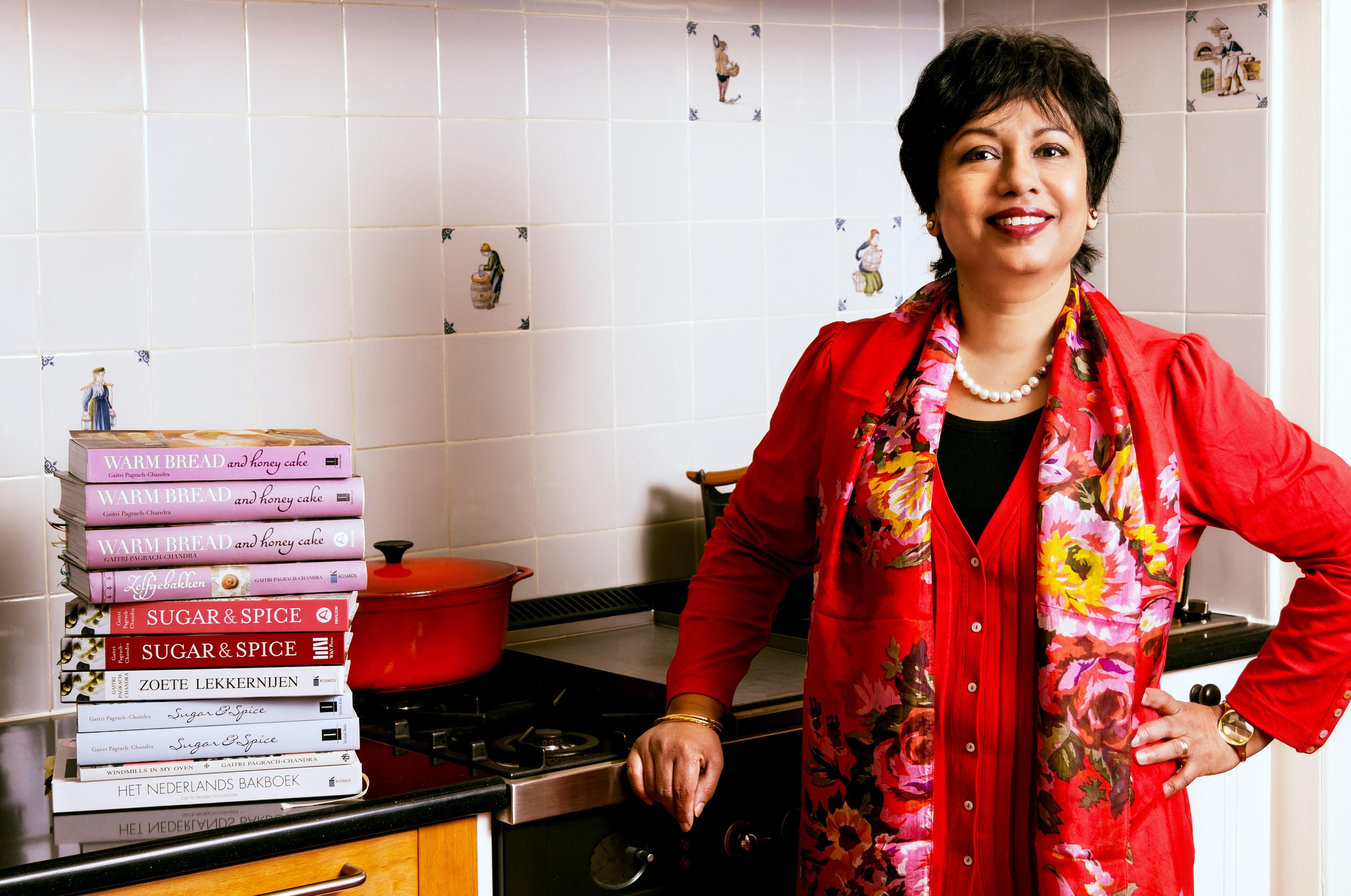 GP keuken met boeken